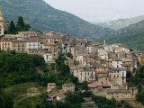 Mountain Town  Anversa di Abruzzi  Abruzzo  Italy