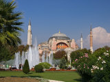 The Hagia Sophia Mosque  Istanbul  Turkey