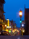 Chinatown at Night  San Francisco  California  USA