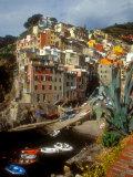 Town View  Rio Maggiore  Cinque Terre  Italy