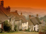 Shaftesbury  Gold Hill  Dorset  England