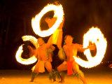 Fire Dance at Bora Bora Nui Resort and Spa  Bora Bora  Society Islands  French Polynesia
