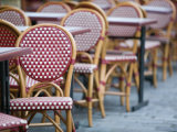 Cafe Tables  Place du Tertre  Montmartre  Paris  France