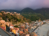 View of La Chinalea  Fisherman's District  Scilla  Calabria  Italy