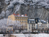 Quai De France Along the Isere River  Grenoble  Isere  French Alps  France