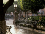 Early Morning  El Jardin  San Miguel de Allende  Mexico