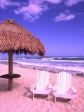 Beach Chairs  Cozumel  Mexico