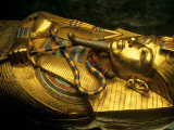 Golden Coffin of Tutahkhamun  Valley of the Kings  Egypt