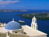 Kimisis Theotokov Church  Thira  Santorini  Cyclades Islands  Greece