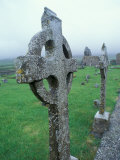 Celtic Cross Gravestone  County Clare  Ireland