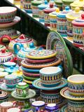 Ceramic Souvenirs  Positano  Amalfi Coast  Campania  Italy