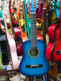 Toy Guitars  Olvera Street Market  El Pueblo de Los Angeles  Los Angeles  California  USA