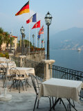Lakeside Restaurant  Lake Como  Italy