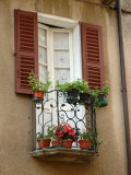 Window Detail  Lake Orta  Orta  Italy