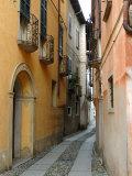 Narrow Street  Lake Orta  Orta  Italy