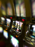 Slot Machines  Luxor Casino  Las Vegas  Nevada  USA