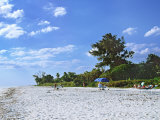Beach on Sanibel Island  Florida  USA