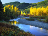 Wenatchee River  Central Cascades  Washington  USA