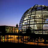 Reichstag Domed Roof  Berlin  Germany