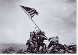 Flag Raising on Iwo Jima  February 23  1945