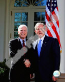 Senator John McCain & President George W Bush at the White House March 5  2008  Washington  DC