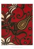 Scarlet Textile I
