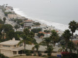 A Portion of the Pacific Coast Highway in Malibu  California  is Shown Monday  July 31  2006