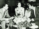 Frank Sinatra with Princess Grace Kelly  1958