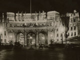 Admiralty Arch Decorated in Preparation for the Coronation of King George VI  May 1937
