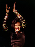Whitney Houston at Her Concert in Dublin