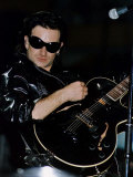 Bono of U2 on Stage at Celtic Park in Glasgow  1992