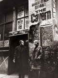 The Entrance to the Famous Cavern Club Made Famous by the Beatles  March 1966