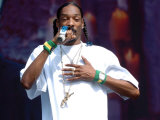 Snoop Dogg on Stage at T in the Park  T in the Park Concert  July 2005