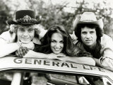 Dukes of Hazzard Television Programme John Schneider  Catherine Bach and Tom Wopat
