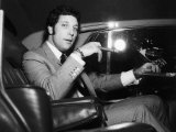 Tom Jones on His Way to Luton in a Car