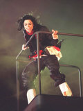 Michael Jackson at the Brit Awards 1996 Where He Won a Special Award for Artist of a Generation