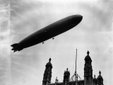The Graf Zeppelin Airship in London