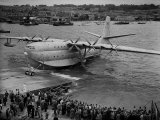 Sanders Roe Princess Flying Boat  August 1952
