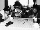 Run DMC American Pop Group Rap Drinking Tea  1986