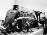 The Mallard Steam Train  World Record Holder for Steam Locomotives of 126 MPH in 1938