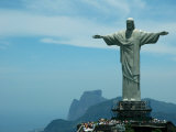 Christ the Redeemer on Corcovado Mountain  Rio De Janeiro  November 2004