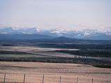 Farm Fields - Rockies  Foothills  Banff  Calgary