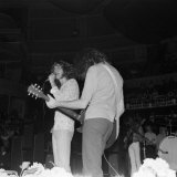 Robert Plant of Led Zeppelin in Concert