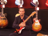 Eric Clapton Guitar Legend at the Launch of the Auction of His Guitars  June 1999