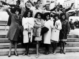 Diana Ross and the Supremes with Pop Groups from the Motown Company of Chicago  1965