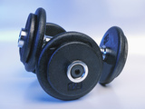 Black Dumbbells