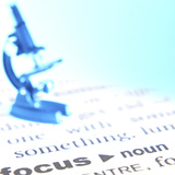 Microscope Sitting on Definition of Focus