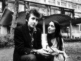 Bob Dylan Singer Songwriter with Joan Baez