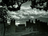 Night Hides the Scars of Seven Centuries; Conway Castle  March 1942