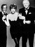 Frank Sinatra with Sammy Davis Junior and Liza Minnelli  April 1989